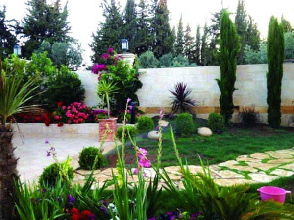 تنسيق حدائق حي الجودرية